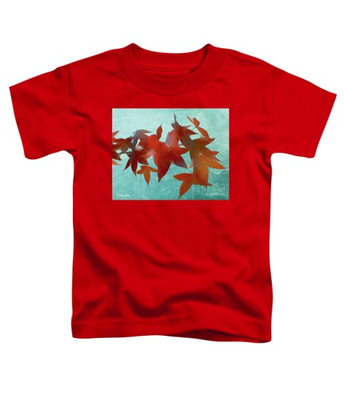 The Red Leaves Toddler T-Shirt