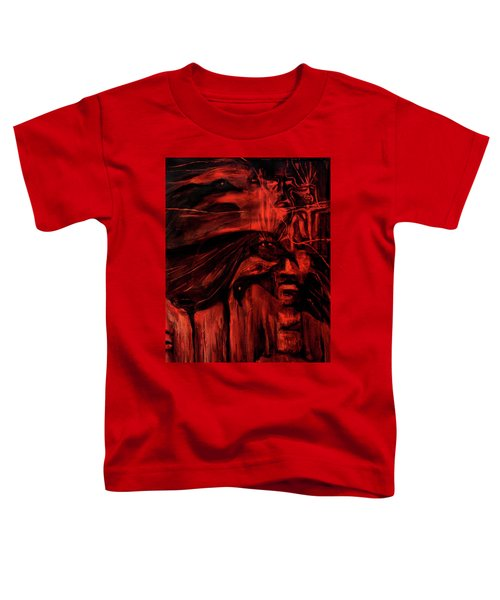 The Shap Shifters Call Toddler T-Shirt