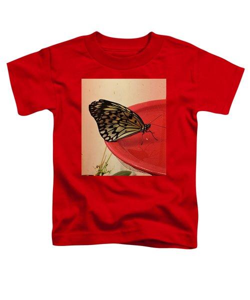 Torn Butterfly Toddler T-Shirt