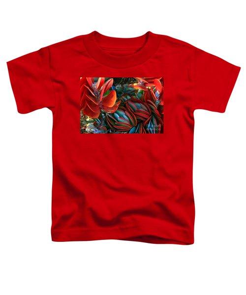 Vivid Paddle-leaf Succulent Toddler T-Shirt