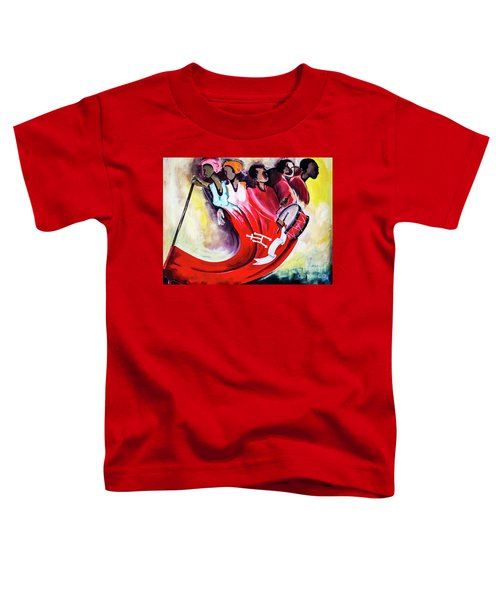 Wall Painting In Fogo, Cape Verde Toddler T-Shirt