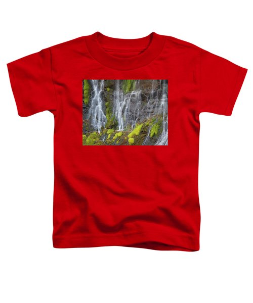 Waterfall Detail Toddler T-Shirt
