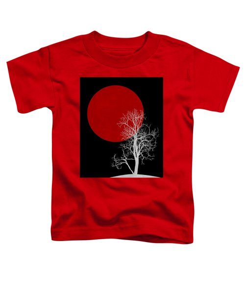 White Night Tree Toddler T-Shirt