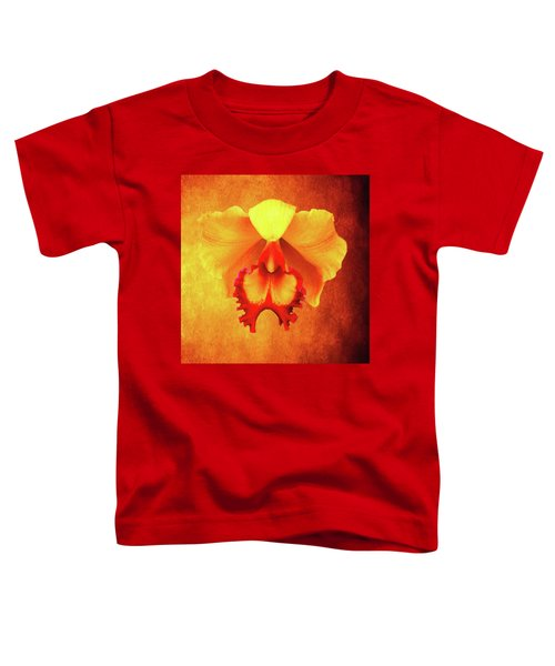 Yellow Exotic Toddler T-Shirt