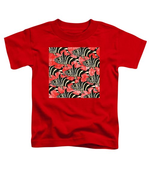 Zebra Fish 5 Toddler T-Shirt