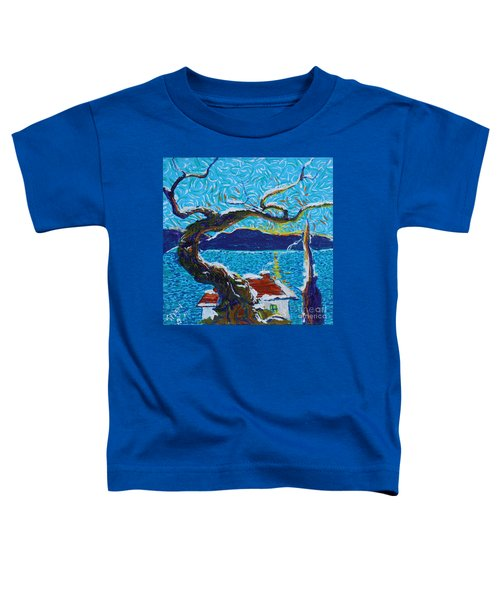 A River's Snow Toddler T-Shirt