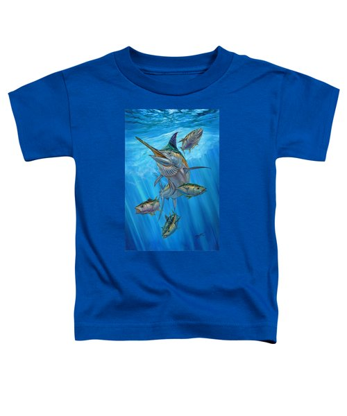 Black Marlin And Albacore Toddler T-Shirt