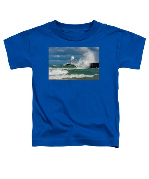 Break Wall Waves Toddler T-Shirt