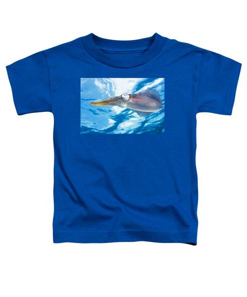 Caribbean, Reef Squid Sepioteuthis Toddler T-Shirt