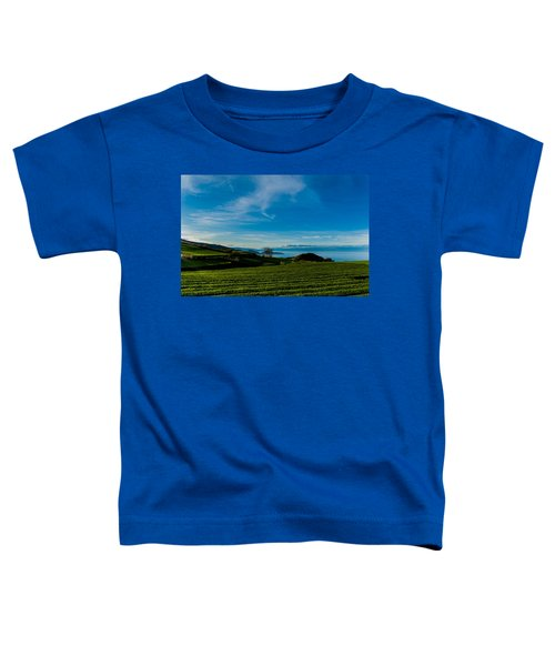 Field Of Tea Toddler T-Shirt