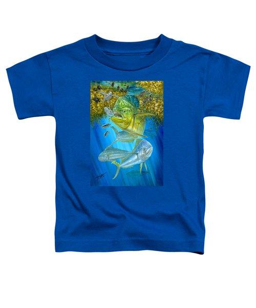Mahi Mahi Hunting In Sargassum Toddler T-Shirt
