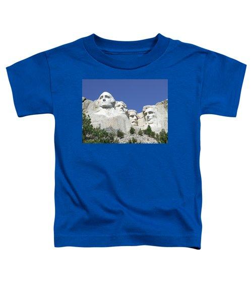 Mount Rushmore National Memorial Toddler T-Shirt