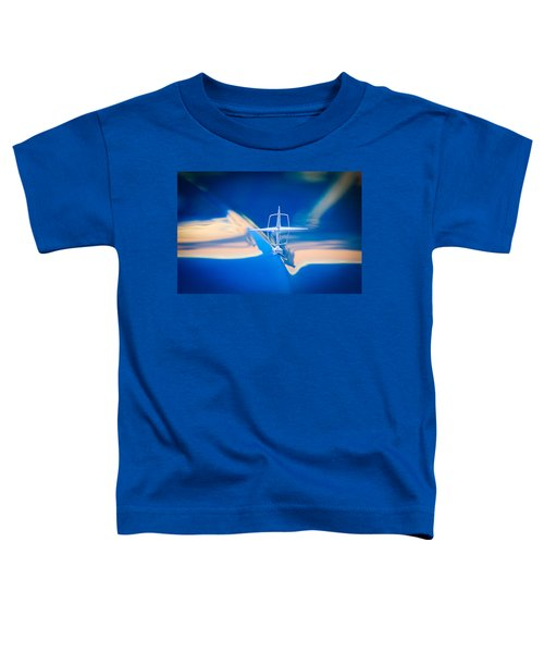1957 Lincoln Continental Hood Ornament Toddler T-Shirt