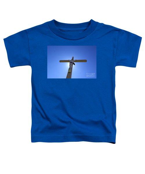 Crucifix Toddler T-Shirt