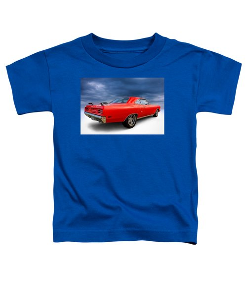 '70 Roadrunner Toddler T-Shirt by Douglas Pittman
