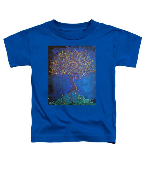 A Tree Of Orbs Glows Toddler T-Shirt