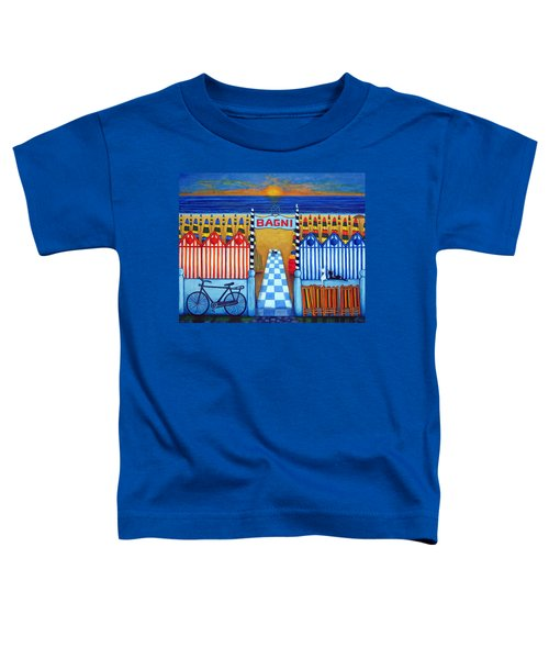An Italian Summer's End Toddler T-Shirt