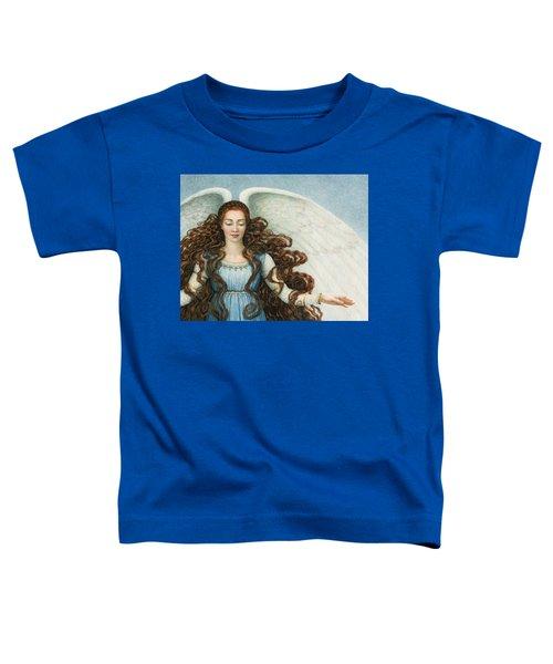 Angel In A Blue Dress Toddler T-Shirt