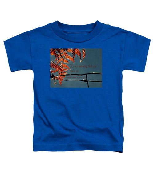 Another Chance Toddler T-Shirt