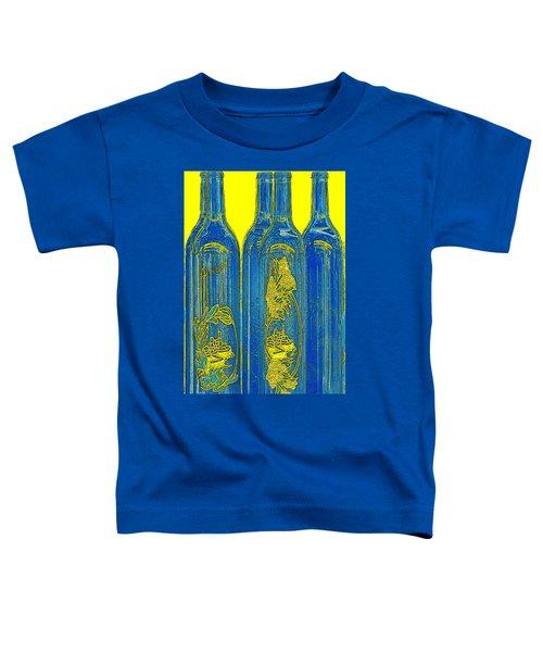 Antibes Blue Bottles Toddler T-Shirt
