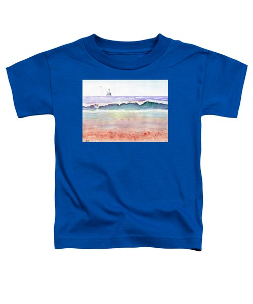 At The Beach Toddler T-Shirt