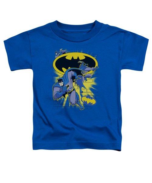 Batman Bb - Action Collage Toddler T-Shirt