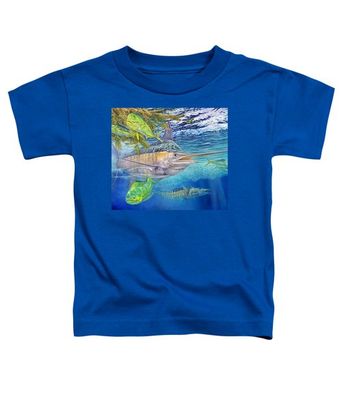 Big Blue Hunting In The Weeds Toddler T-Shirt