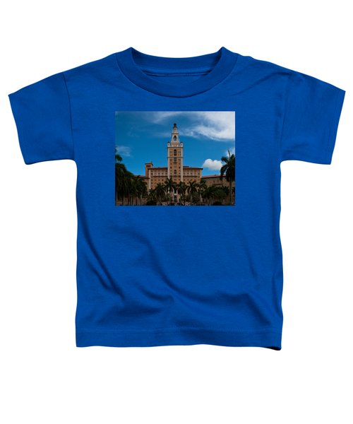 Biltmore Hotel Coral Gables Toddler T-Shirt