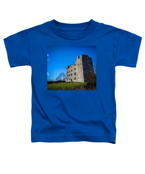 Toddler T-Shirt featuring the photograph Birds Of Ireland's Leamaneh Castle by James Truett