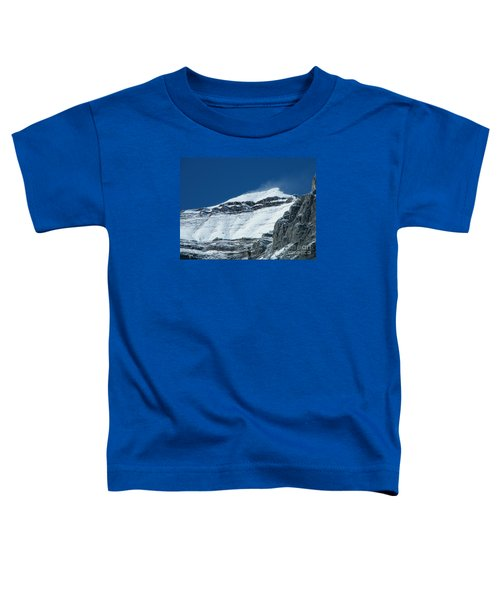 Blowing Snow Toddler T-Shirt