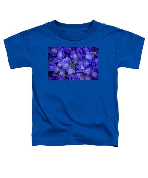 Blue Bells Carpet. Amsterdam Floral Market Toddler T-Shirt