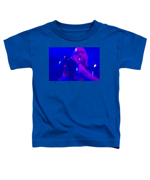 Toddler T-Shirt featuring the photograph Blue Mood by Alex Lapidus