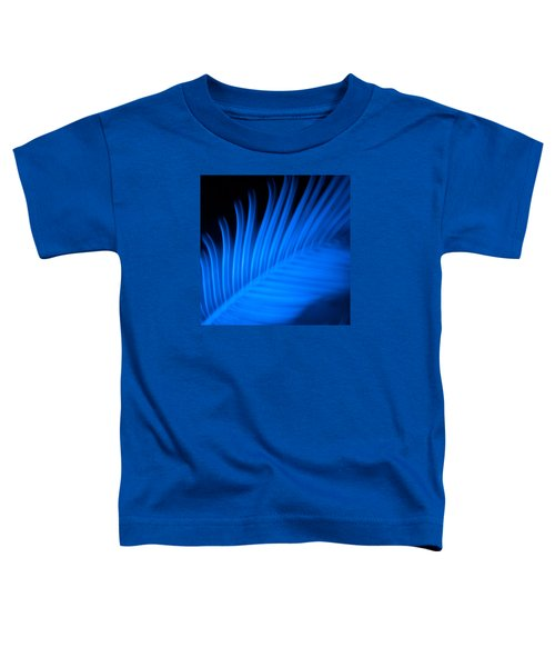 Blue Palm Toddler T-Shirt