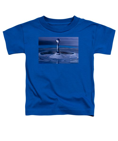 Blue Water Drop Toddler T-Shirt