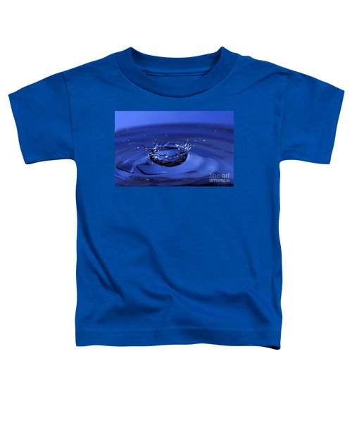 Blue Water Splash Toddler T-Shirt