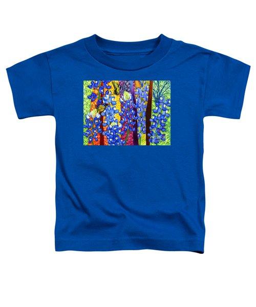 Bluebonnet Garden Toddler T-Shirt