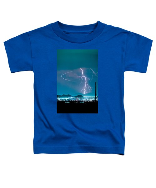 Bo Trek The Lightning Man Toddler T-Shirt by James BO  Insogna