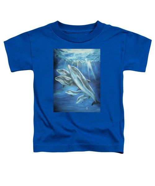 Bottlenose Dolphins Toddler T-Shirt