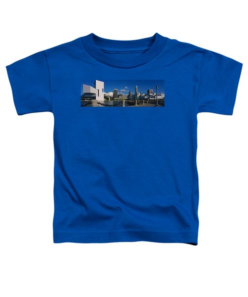 Building At The Waterfront, Rock And Toddler T-Shirt