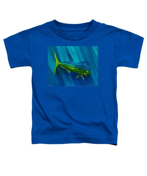 Bull Dolphin Toddler T-Shirt