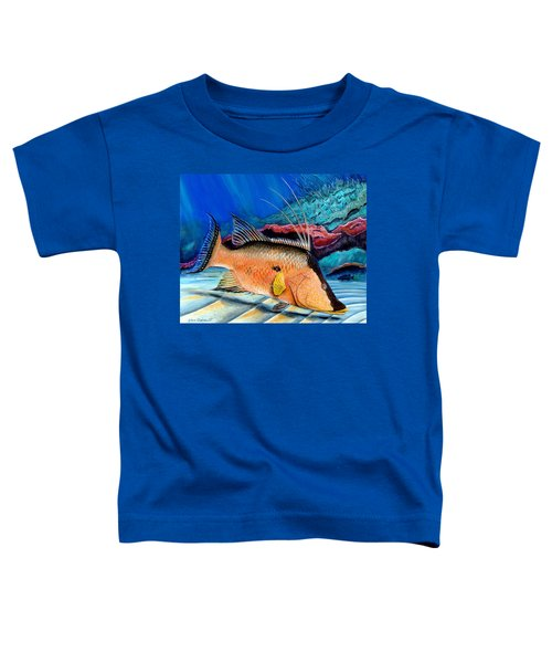 Bull Hogfish Toddler T-Shirt