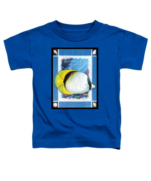Butterfly Fish Toddler T-Shirt