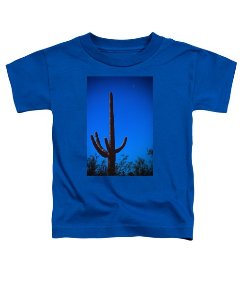 Cactus And Moon Toddler T-Shirt