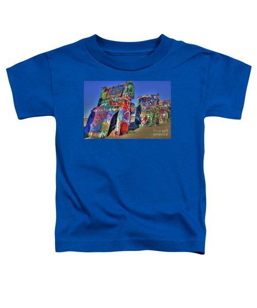 Cadillac Ranch Toddler T-Shirt