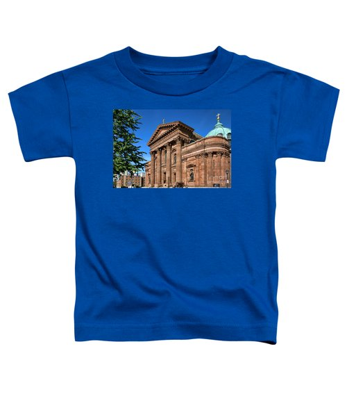 Cathedral Basilica Of Saints Peter And Paul Toddler T-Shirt