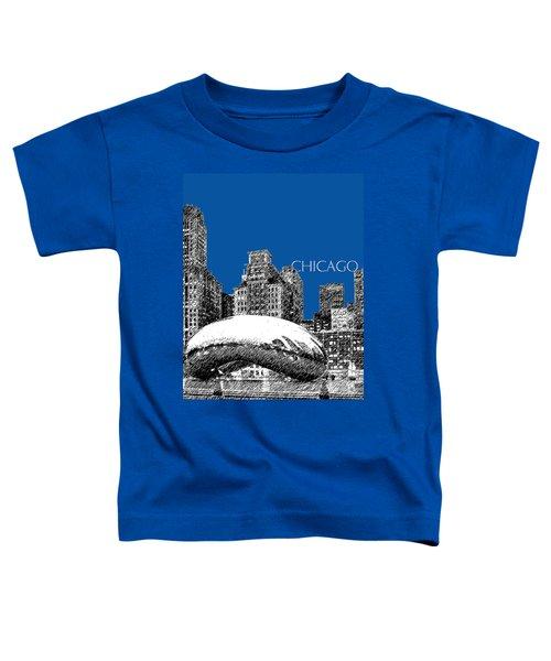 Chicago The Bean - Royal Blue Toddler T-Shirt