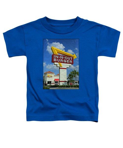 Classic Cali Burger 1.1 Toddler T-Shirt