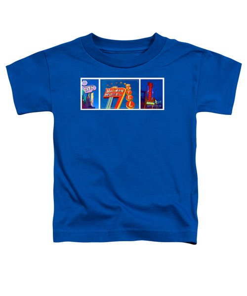 Classic Old Neon Signs Toddler T-Shirt