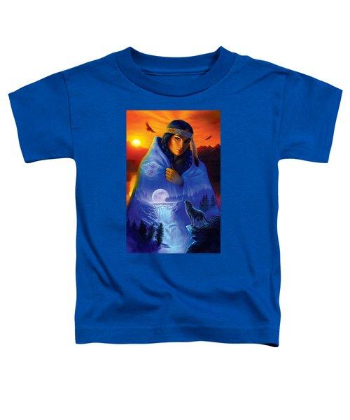 Cloak Of Visions Portrait Toddler T-Shirt