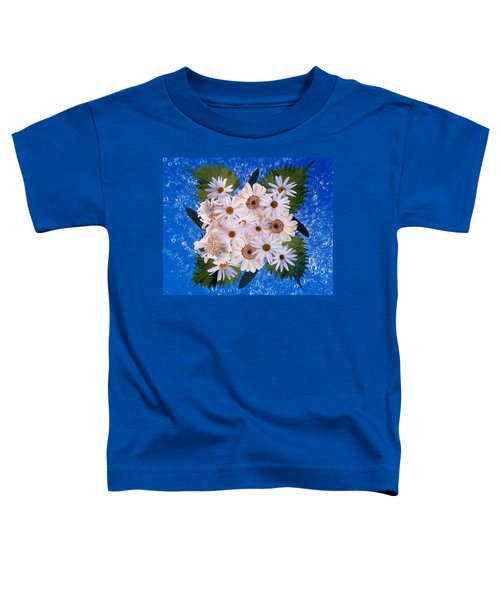 Close Up Of White Daisy Bouquet Toddler T-Shirt
